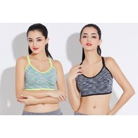 £5.99 instead of £17.01 (from Paperdollz Ltd) for a max-support sports bra, or a pack of three bras for £14.99 - choose between two colours and save up to 65% - Bra Gifts
