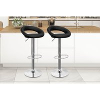 2139f0b6dac a set of two PU leather bar stools save 72%