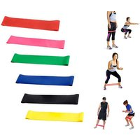 Workout effectively from your own home with six resistant bands! - Bands Gifts