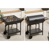 £39.99 (from Trojan Electronics) for a double-sided oil drum barbecue - Barbecue Gifts
