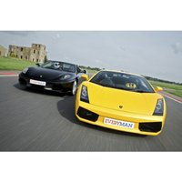 From £37 for a supercar driving experience with one car, from £57 for two cars, from £77 for three, from £97 for four at Everyman Racing - choose from ten locations - save up to 24% - Racing Gifts