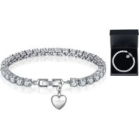 14.99 instead of £49.99 (from Your Ideal Gift) for a personalised lab-created sapphire charm bracelet – choose from 16 charms and save 70% - Charm Bracelet Gifts
