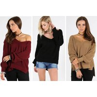£12 (from Oops Outlet) for an oversize knitted jumper – choose from seven colours! - Knitted Gifts