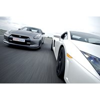 £39 for a junior supercar driving experience in one car, £67 for two cars, or £87 for three cars at Everyman Racing - choose from five locations and save up to 34% - Racing Gifts