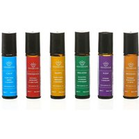 £34.95 instead of £59.70 for six blended essential oil rollerballs from Nefertem - save 41%