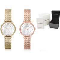 £119 instead of £279 (from Ticara Watches) for a ladies Emporio Armani AR11006 or AR11007 watch - save 57% - Armani Gifts