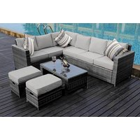 £469 instead of £999.99 (from Dreams Outdoors) for an 8-seater rattan sofa set or £499 for a sofa set with rain cover- save up to 53% - Outdoors Gifts