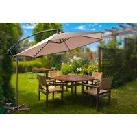 a deluxe banana parasol - choose from seven colours and save 68%