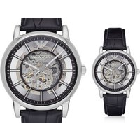 £139 instead of £356 (from Best Watch Company) for an Emporio Armani men's Luigi skeleton dial watch - save 61% - Armani Gifts