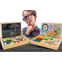£8.99 instead of £29.99 for an easy learning wooden mathematics set from Ckent Ltd - save 70% - Learning Gifts