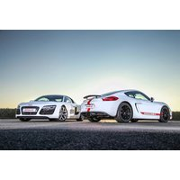 £29 for a three-lap junior driving experience in one supercar, £59 for six laps in two supercars, or £89 for nine laps in three supercars from DriveMe - choose from two locations and save up to 71% - Supercar Gifts