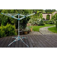 93764e8b2845 a four arm rotary washing airer save 73%