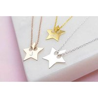 £16 instead of £79 (from Ah! Jewellery) for a personalised engraved star necklace –save 80% - Fashion Gifts