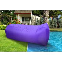 £9.99 instead of £50.99 (from Wow What Who) for an inflatable lounger - choose from five colours and save 80% - Inflatable Gifts