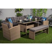 £569 instead of £1270 (from Dreams Outdoors) for a ten seater durable polyrattan garden set - save 55% - Outdoors Gifts