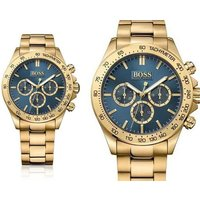 Time to check out this deal for a men's gold and blue Hugo Boss Watch! - Hugo Boss Gifts