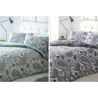 £7.99 instead of £33 (from Not In Store) for a single paisley duvet cover, £11.99 for a double, or £13.99 for a king - save up to 76% - Duvet Gifts