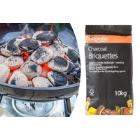 £8.99 instead of £19 for 10kg FSC BBQ charcoal briquettes from Shop At Home - save 53% - Shop Gifts