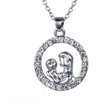 £3.99 instead of £29 for a mother & baby crystal pendant from Solo Act Ltd - save 86% - Crystal Gifts