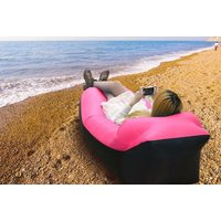 £14.99 instead of £40.99 (from Wow What Who) for an inflatable lounger with head rest - choose between six colours and save 63% - Inflatable Gifts