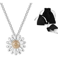£3.99 instead of £15.99 for a Philip Jones daisy pendant necklace from Silver Supermarket Ltd - save 75% - Silver Gifts