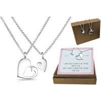 £8.99 instead of £19.99 for a Philip Jones 'piece of my heart' necklace set from Silver Supermarket Ltd - save 55% - Silver Gifts