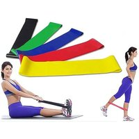 £6.99 instead of £19.99 (from DomoSecret) for a six-pack of resistance exercise bands - save 65% - Bands Gifts