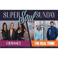 £21.50 instead of £33.65 for a ticket to Odyssey & The Real Thing at Super Soul Sunday, New Theatre Oxford – save 36% - Musical Theatre Gifts