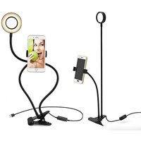£11.99 instead of £25.99 (from Magic Trend) for a phone holder with attached selfie ring light - save 54% - Selfie Gifts
