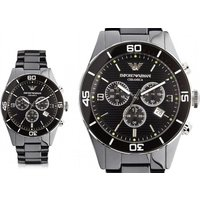 £129 instead of £296 (from Best Watch Company) for a men's Emporio Armani luxury AR1421 watch - 56% - Armani Gifts