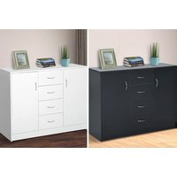 £99 instead of £149 (from MHstar) for a sideboard with four drawers - save 34% - Storage Gifts