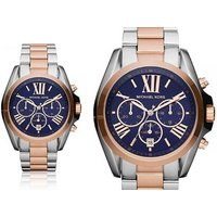 Tick tock, time is running out for you to check out this Ladies' Michael Kors two-tone Bradshaw MK5606 watch deal! - Athletics Gifts
