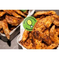 £21 instead of £45.05 for 26 chicken wings and 4 beers to share between two people at Wing Wing Krispy Chicken, Hammersmith - save 53% - Chicken Gifts