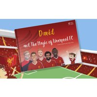£18 instead of £26.90 (from The Magic of Liverpool FC) for a personalised football storybook - save 33% - Liverpool Fc Gifts