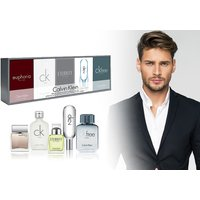 £28 instead of £39 (from Deals Direct) for a five-piece Calvin Klein mini travel fragrance set - save 28% - Calvin Klein Gifts