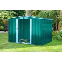 a metal garden shed  choose from three sizes and save up to 60%