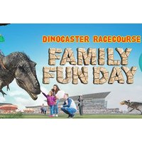 £9 instead of £14 for a grandstand entry ticket to Dinosaur themed racecourse at Doncaster Racecourse - save 36% - Theme Parks Gifts