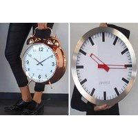 ExtraLarge Alarm or Wall Clock