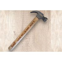 a personalised handpainted hammer  save 44%