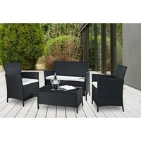 '£99 Instead Of £699 (from Esenti) For A Four-piece Rattan Garden Or Conservatory Furniture Set - Save 86%