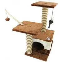 £21.99 instead of £83.30 (from Who Needs Shops) for a cat scratching post and activity centre - save 74% - Activity Gifts