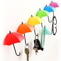 £3.99 instead of £18 (from Secret Storz) for a set of six novelty umbrella wall hooks, £6.99 for a set of 12 - save up to 83% - Umbrella Gifts