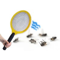 £4.99 instead of £9.99 (from Black Feather) for one electronic bug zapper bat, £7.99 for two - save up to 50% - Electronic Gifts