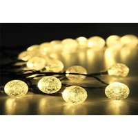 From £8.99 (from Garden Mile) for a set of 30 solar powered LED crystal ball string lights! - Solar Powered Gifts