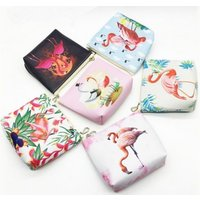 £2.98 instead of £17.90 (from Hey4Beauty) for a printed flamingo purse –choose from six designs and save 83% - Purse Gifts