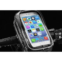 £9.99 (from YelloGoods) for a clip-on waterproof bicycle phone bag - choose from two sizes - Bicycle Gifts