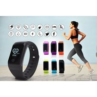 £18 instead of £79.99 for an hr10+ 18-in-1 fitness tracker with heart rate and blood oxygen monitor - choose from five colours from Ugoagogo - save 77% - Fitness Gifts