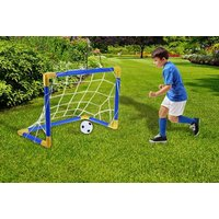£6.99 instead of £19.99 (from WowWhatWho) for a children's outdoor football goal set - save 65% - Outdoor Gifts