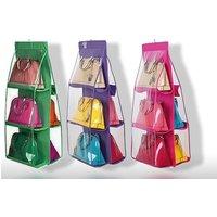 £6.99 instead of £39.99 for a six-pocket handbag storage holder - choose from three colours from Ugoagogo - save 83% - Handbag Gifts