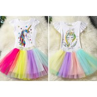 £9 instead of £29.99 (from hey4beauty) for a kids unicorn outfit – choose from five designs and save 70% - Wowcher Gifts